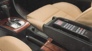 Thumbnail image of an old-school car phone